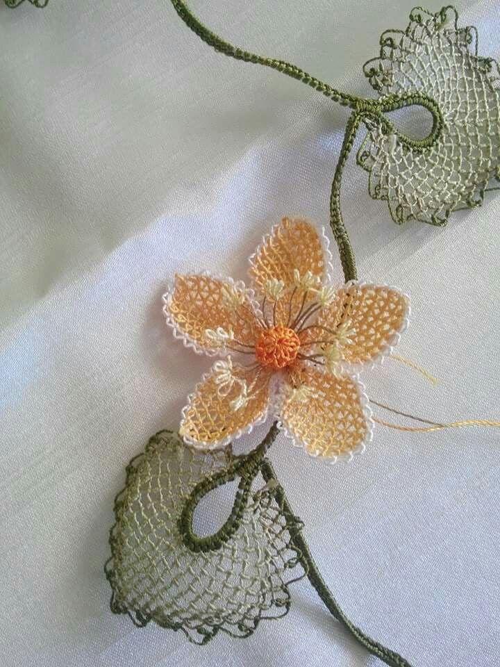 . Turkish needle lace - oya aa