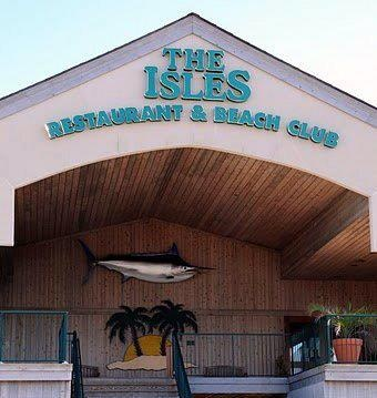 The Isles Restaurant, Ocean Isle Beach NC where we got married on the beach!