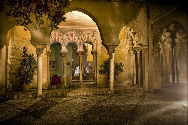 Alcazaba, Malaga; - .The Alcazaba is a Moorish fortification in Málaga, Spain...