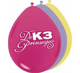 K3 prinsessen ballonnen