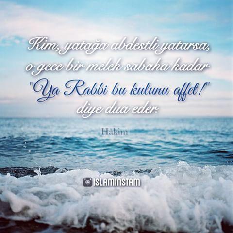 Hadis-i şerif, kaynak: Hâkim. Her gece abdestli uyumayı kendimize alıştıralım.. ☁️ #hadis #islam #abdest #namaz #Allah #hadisişerif #hadisler #ayetler #ayet #müslüman #muslumanisozler #güzelsöz #anlamlı #ilim #dua #sevap #sünnet #cami #islami #islamisöz #dinisöz  @islaminstam