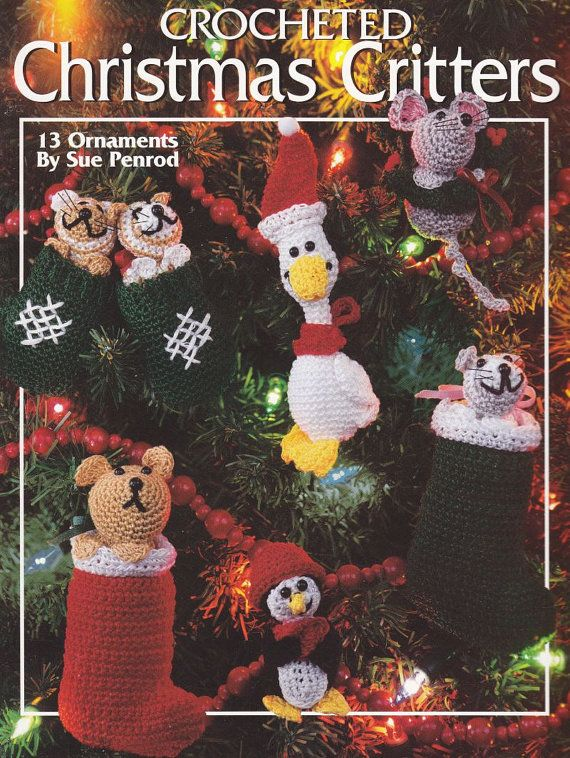 Christmas Ornament Crochet Patterns Should buy this for mom
