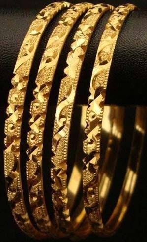 Image result for indian gold bangles set of 6
