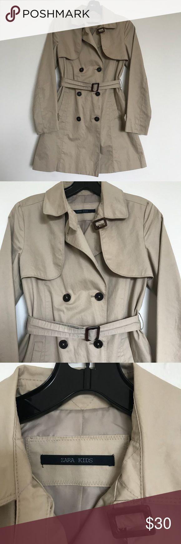 ZARA KIDS GIRLS TRENCH COAT 🧥 Gently used in great condition Zara Jackets & Coats