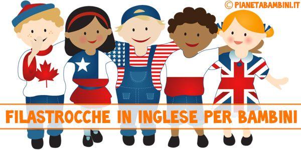 20 Filastrocche in Inglese per Bambini con Testi da Scaricare