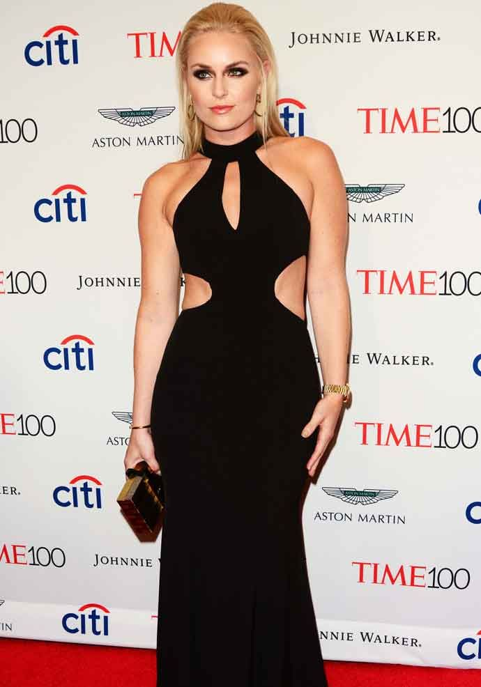 Get The Look: Lindsay Vonn At The Time 100 Gala In New York City