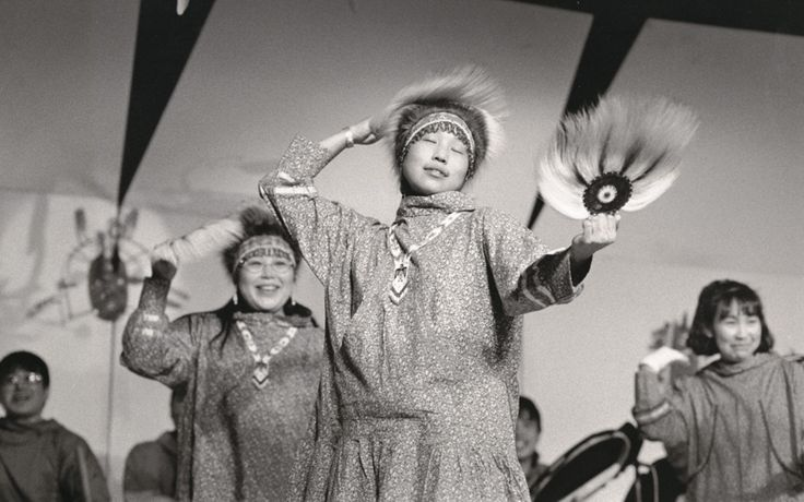 Yup´ik dancers, Cama-i Dance Festival, Bethel, Alaska ...