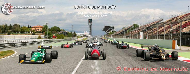 Presentación de la sexta edición del Espíritu de Montjuïc #F1 #Formula1 #ChineseGP