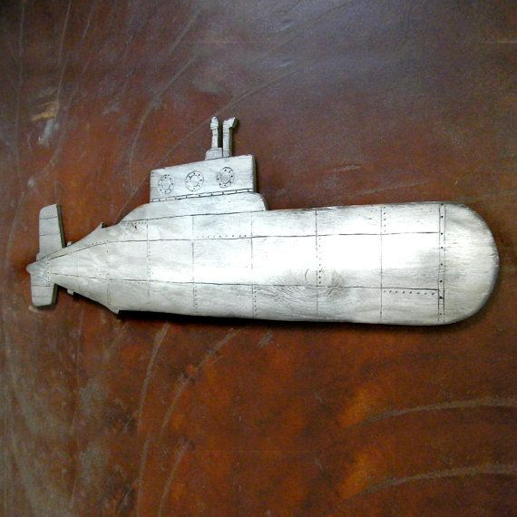 Submarine Wall Art Steampunk Industrial Kids Room Decor