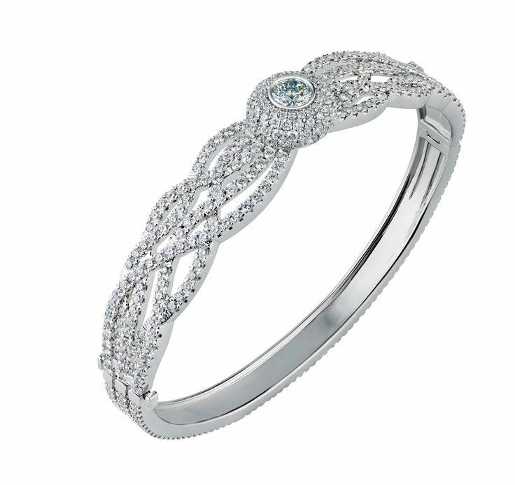 14 best Diamond Bracelets & Bangles images on Pinterest