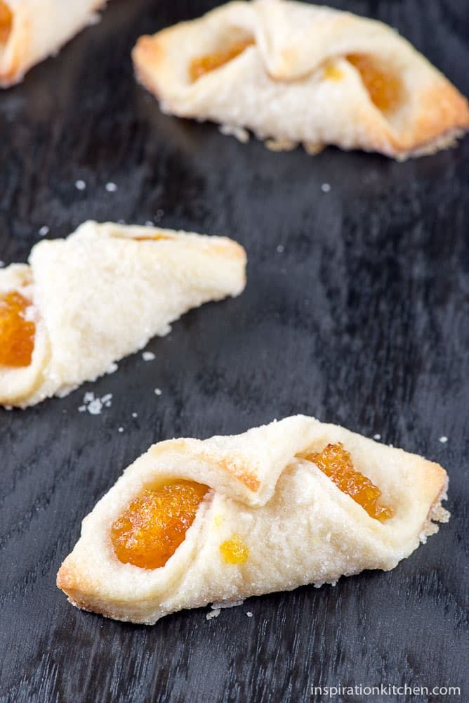 These Apricot Kolaches cookies are a sweet apricot puree wrapped in a bite-size buttery, rich, cream cheese pastry– a beautiful cookie with the perfect amount of sweet for the holidays. Today's post is especially fun for me, because this recipe is the very definition of a collaborative cookie swap on so many levels. And, I'm...Read More »