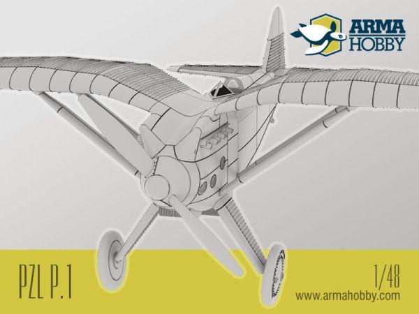 Model PZL P.1 - nowość 2014!