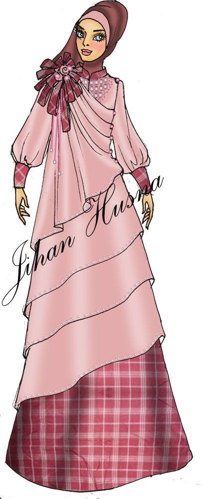 Desain Abaya Party