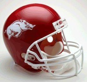 Arkansas Razorbacks Riddell Deluxe Replica Helmet Z157-9585588905