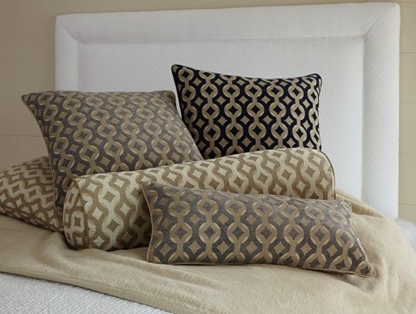 Architectural Pattern Decorative Pillows - Peacock Alley Preston | J Brulee Home http://www.jbrulee.com/pd-architectural-pattern-decorative-pillows---peacock-alley-preston.cfm