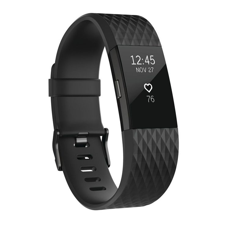 Fitbit Charge 2 Special Edition Heart Rate + Fitness Wristband, Dark Grey