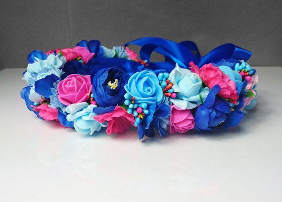 """Résultat de recherche d'images pour """"bouquet  bleu roi et fushia"""""""