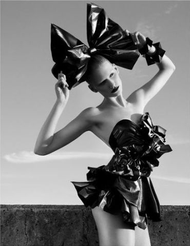 Garbage Bag Fashions Suited For The High Fashion Runways: Editorial Looks On A Budget!