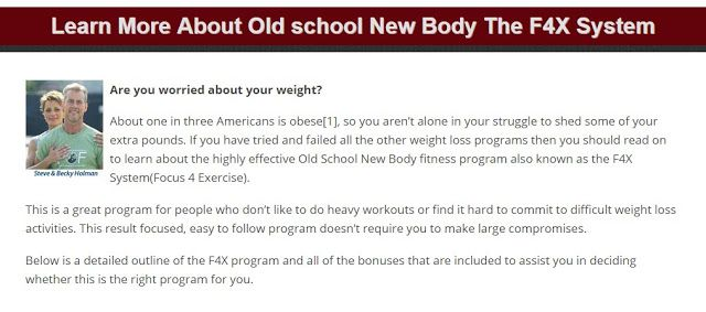 Old School New Body Review: Old School New Body Review