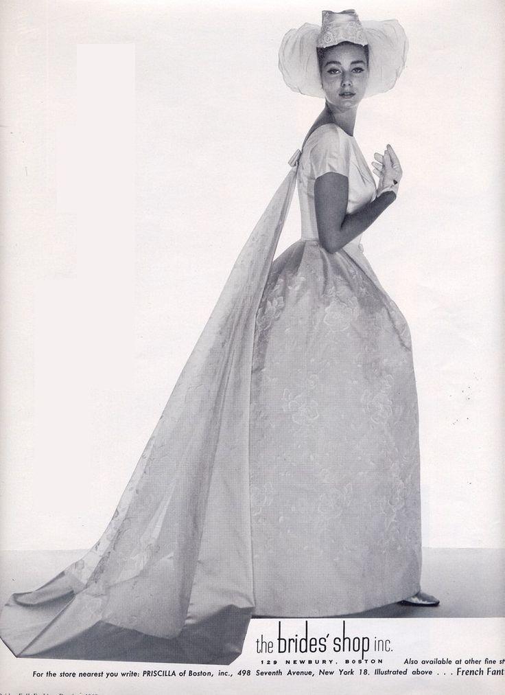 388 besten 1960 Wedding Gowns Bilder auf Pinterest ...