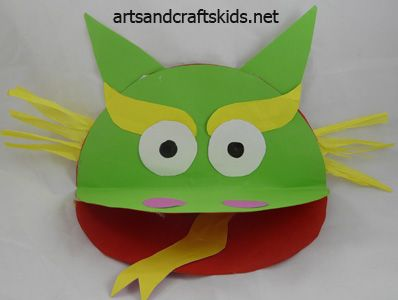 Dragon Craft-500 | Craft ideas | Easy crafts ideas for kids – Craft projects