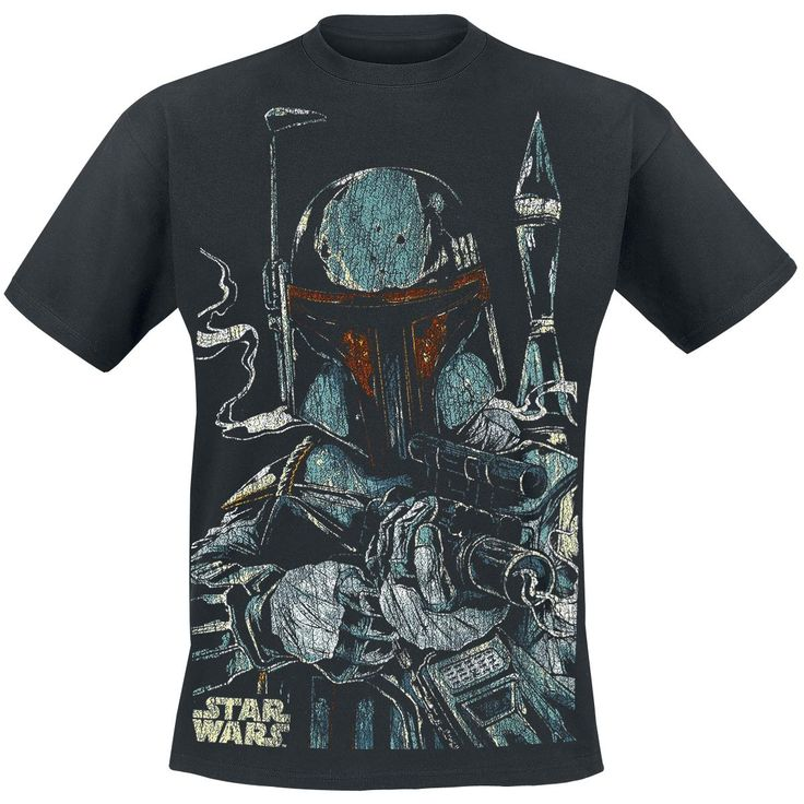 Star Wars  T-Shirt  »Boba Fett« | Buy now at EMP | More Fan merch  T-shirts  available online ✓ Unbeatable prices!