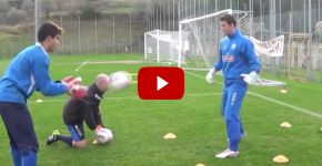 Soccer Goalkeeper Coordination Drills
