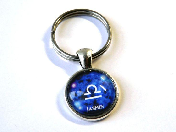 Schlüsselanhänger - Namens-Anhänger Sternzeichen Waage - ein Designerstück von csoMunich bei DaWanda