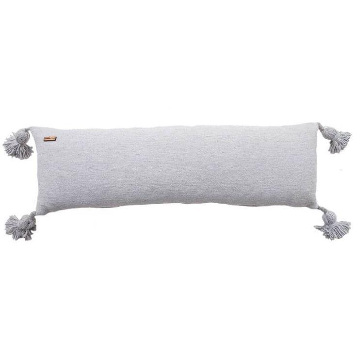 Moroccan Grey Lumbar-tyynynpäällinen 33x90cm