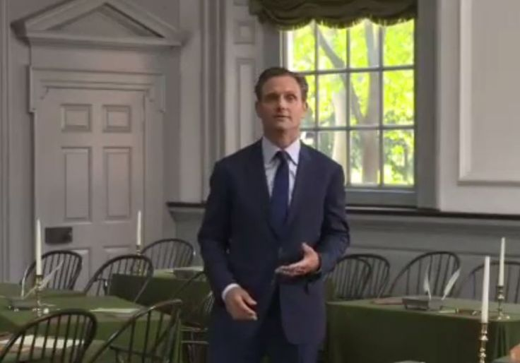 'Scandal' POTUS Tony Goldwyn Gives American History Lesson In DNC Video