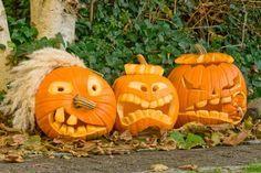 Kürbis Schnitzvorlagen | Alles rund um Halloween-Kürbisse (Halloween Deko)