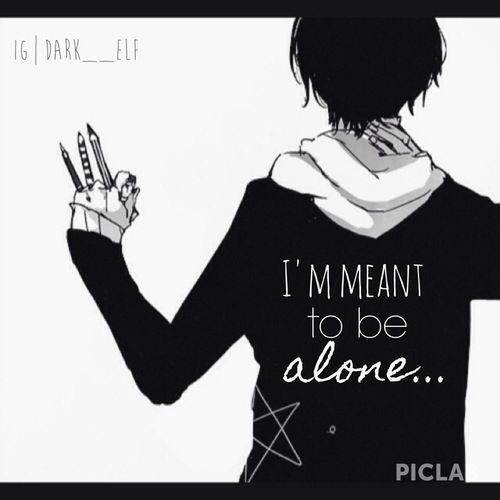 Sad Boy Alone Quotes: 216 Best Images About Anime And Love