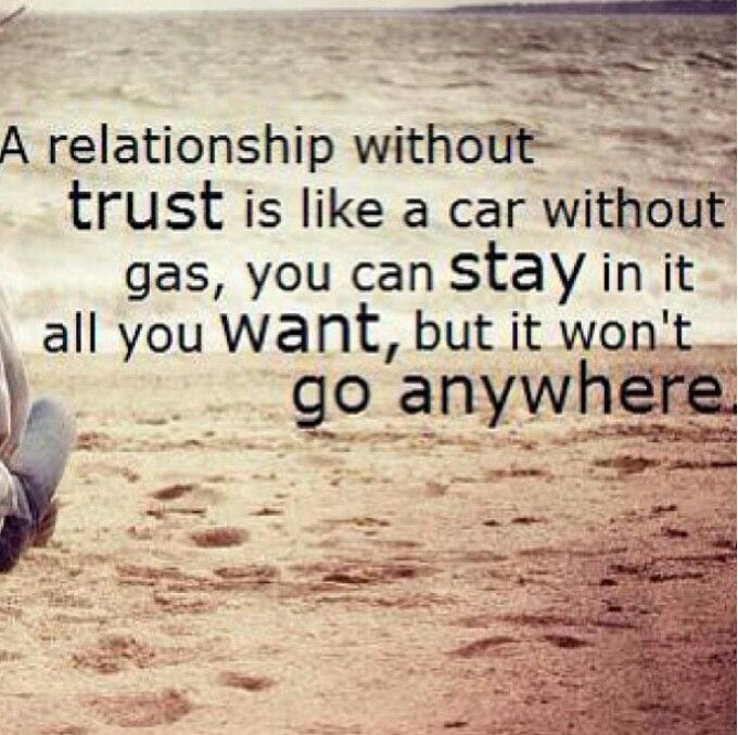 Trust quotes needs to be the truth