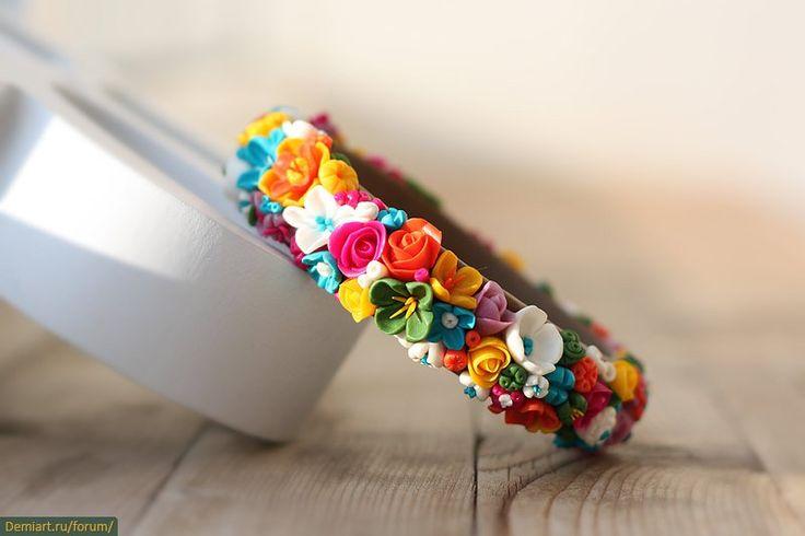 Цветочно-фруктовые украшения Елены Воробьевой