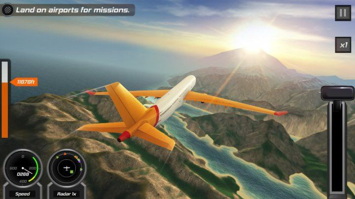 Flight simulator game that so realisitc game