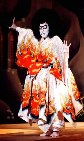 BANDO Mitsugoro (1956 - 2015, Feb) 坂東三津五郎 Great Kabuki actor and Medal with Purple Ribbon holder.