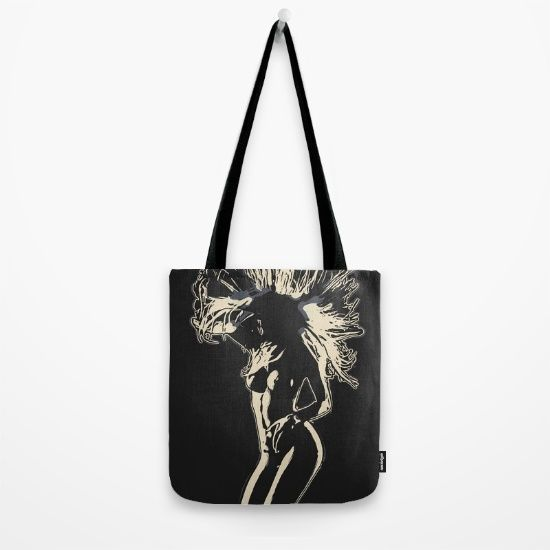 """Now ONLY 13$! $5 Off Totes, Phone Cases, Tapestries, Mugs and All Stocking Stuffers - Free Shipping on Everything - Ends Tonight at Midnight PT! Our quality crafted Tote Bags are hand sewn in America using durable, yet lightweight, poly poplin fabric. All seams and stress points are double stitched for durability. Available in 13"""" x 13"""", 16"""" x 16"""" and 18"""" x 18"""" variations, the tote bags are washable, feature original artwork on both sides and a sturdy 1"""" wide cotton webbing strap."""