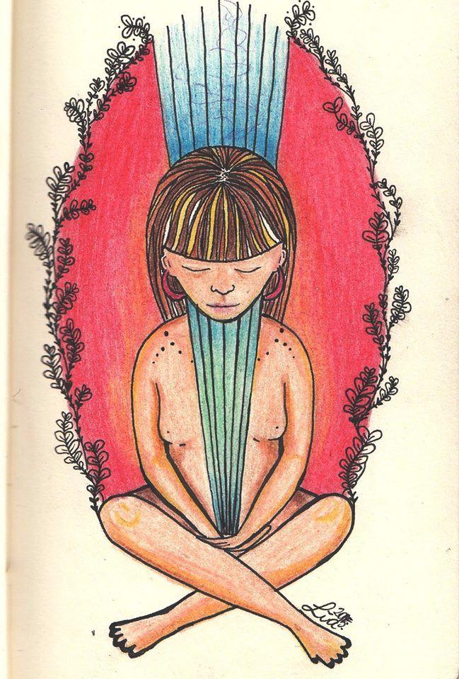 Liä Ilustración. #mujer