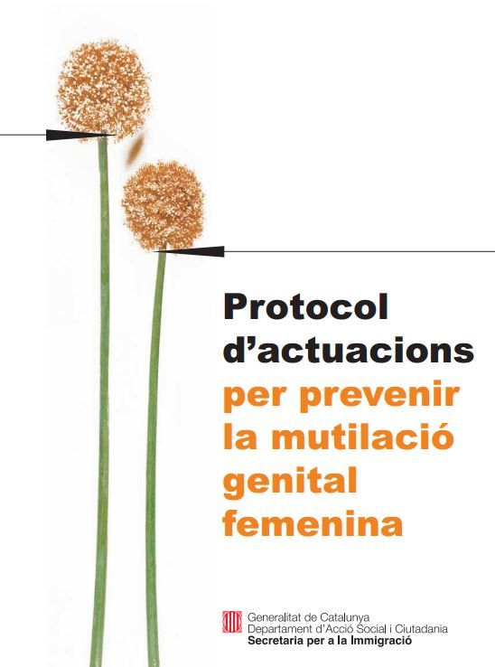 Portada de Protocol d'actuacions per prevenir la mutilació genital femenina
