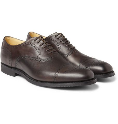 Brogue Shoes On Sale in Outlet, Sand, Suede leather, 2017, 8 Churchs