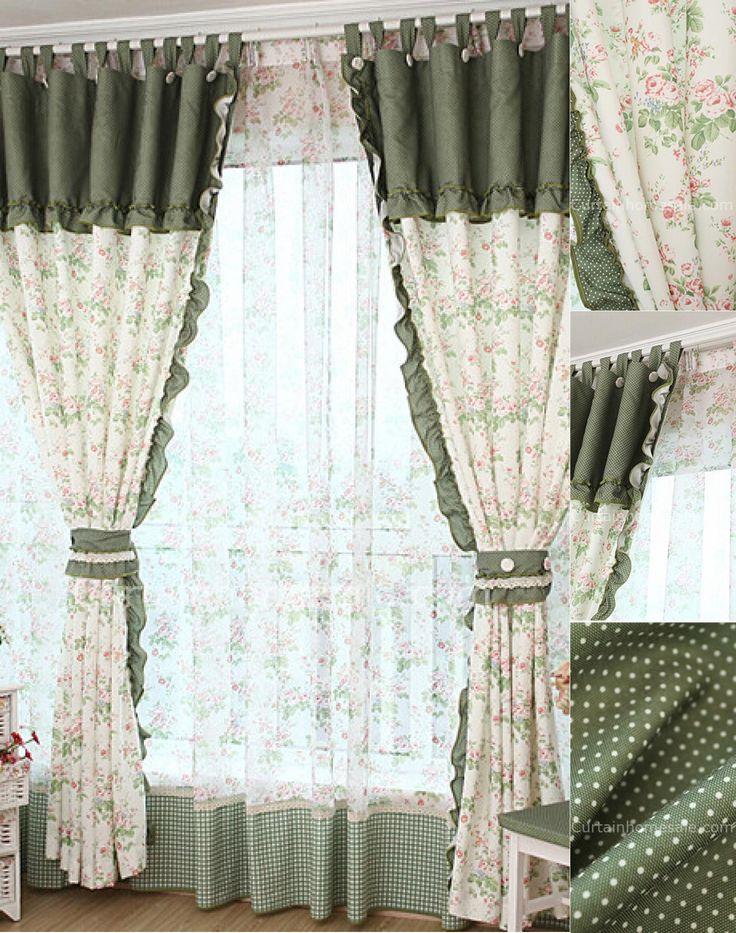 oltre 25 fantastiche idee su tende camera da letto ragazze su ... - Tende Country Camera Da Letto