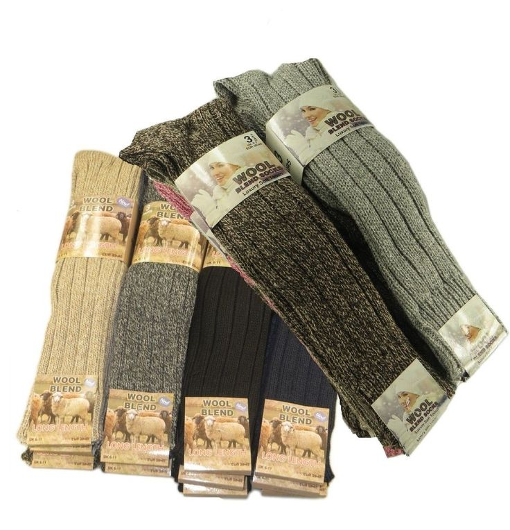 WOMENS LONG THICK CHUNKY WOOL WARMER WORK HIKING BOOT SOCKS. Wool rich long length thick socks. NOTE : Random mix colour will be send. Looking for new Clothes?. Superdry is having the biggest sale of the year don't miss out!   eBay!