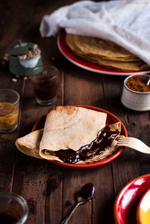 Les 20 meilleures id es de la cat gorie pancakes farine de ma s sur pinterest id es petit - Dessert vegan sans gluten ...