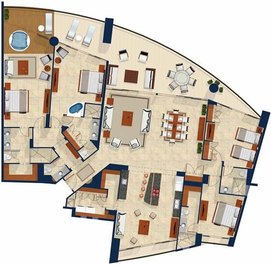 luxury floor plans luxury high rise apartment floor plans house design - Luxury Floor Plans