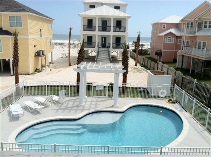 Orange Beach House Rental: Luxury Gulf Front Home W/prvtpool!