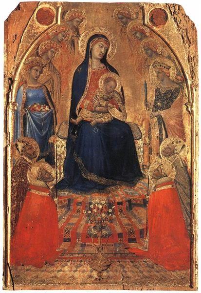 Small Maestà, 1340 - Ambrogio Lorenzetti