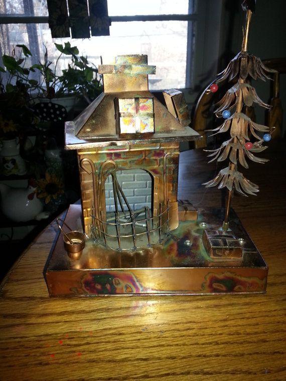 Copper Christmas Music Box-Wind it Up-Listen to the by ZiggyzAttic