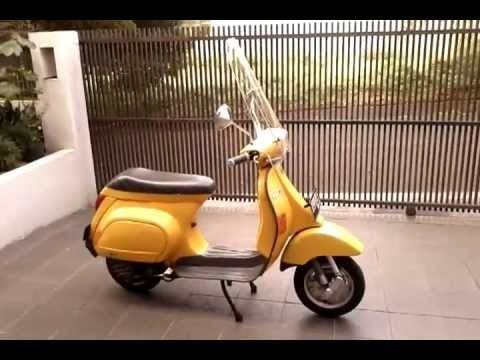 This is my Every day Scooter :D Piaggio PK 125 Automatica