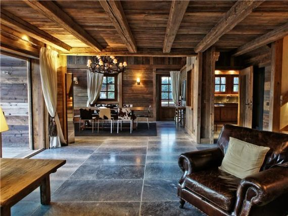 The Unique Luxury Experience of the French Courchevel Chalet Belle Vue
