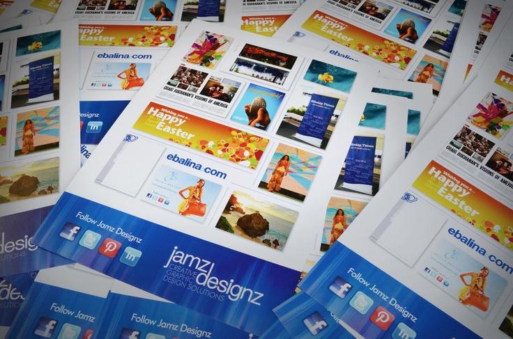 Jamz Designz promotional flyers #graphicdesign #design